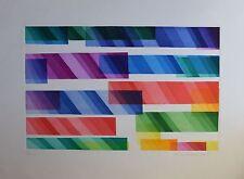 DORAZIO Piero, Senza titolo. Acquatinta originale a colori. Esemplare 84/100