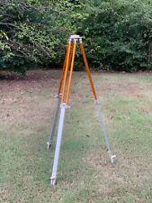 Lietz Sokkisha Gps Aluminum Survey Tripod Extendable Legs Surveyors Tripod Lamp