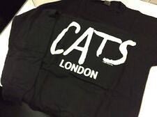 New Vintage  1981 - CATS Musical - LONDON performance Sweatshirt Sweat Shirt