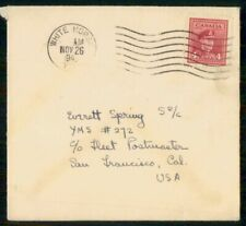 Mayfairstamps Canada Commercial 1945 Cover White Horse Yukon To San Francisco Ca