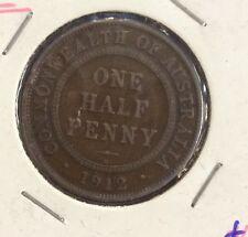 1912 Australian half penny - fine