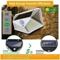 100 LED Solar Power Bewegungsmelder Wandleuchten Outdoor Gartenlampe I3D9 R0I5