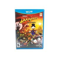 DuckTales: Remastered (Nintendo Wii U) CIB Complete w/ Manual Tested & Working