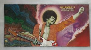 Jimi hendrix Double Album Band of Gypsys The Cry of Love (pochette Solé 1975)