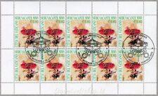 2003 MF1379 Sede Vacante 10 x € 0.80 - Annullo FDC Minifoglio Vaticano Raro