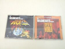 THE WILDHEARTS - TOP OF THE WORLD - 2 CD SINGOLI GUT RECORDS 2003 OTTIME CONDIZ.