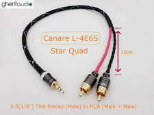 B01 (1.5m 5ft)---3.5mm Jack (1/8')TRS(m) AUX Stereo to Dual 2RCA(m) for ipod/mp3