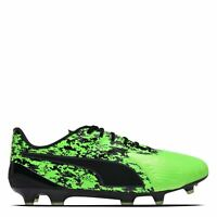 Puma One 19.1 Firm Ground Football Boots Mens Gents Laces Fastened Padded Ankle