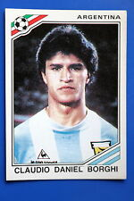 Panini WC MEXICO 86 STICKER N. 86 ARGENTINA BORGHI  WITH BACK VERY GOOD/MINT