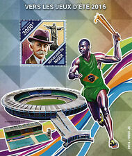 Niger 2015 MNH Summer Games Rio 2016 1v S/S Olympics Pierre de Coubertin Stamps
