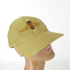 "Board Heads Embroidered Surfer 100% Burlap Hat Cap One Size ""Shred Hard"""