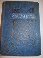 1887 SHAKESPEARE'S WORKS BOOK - EDITED BY W. G. CLARK & W. ALDIS WRIGHT