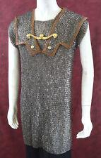 Kettenhemd römische lorica hamata 9mm Keil mit wärmeren mittelgroßen mittelalter