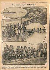 Thessaloniki Salonique Armée française d'Orient Poilus Balkans War WWI 1916