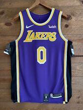 "Kyle Kuzma Authentic Nike Statement Edition Lakers Jersey NWT w/ ""WISH"" Patch!"