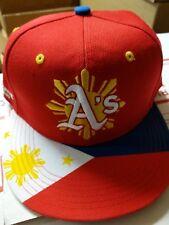 Oakland Athletics A's 2016 Filipino Heritage Night cap hat not a bobblehead