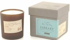 Paddywax Candles Library Collection Leo Tolstoy Soy Wax Candle, 6.5-Ounce (Black