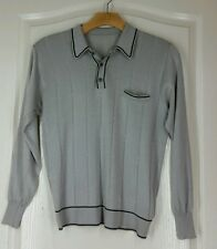 Vintage gray shirt Italy M excellent