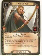 Lord of the Rings LCG - 1x #009 Bow of Yew - The Wilds of Rhovanion