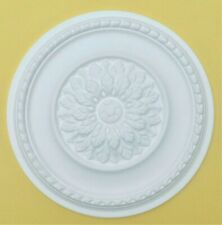 'MEADOWSWEET' 42 CM Ceiling Rose Polystyrene Easy Fit Quality Ceiling Centre.