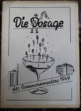 Bierzeitung 1949 HFB Neuwied Lebensmittel Handel food akademie Fachschule...