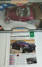 Plymouth Prowler in Candy Magenta 1:18 Ertl ++NEU++ OVP