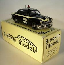 Brooklin Models BRK51a 1951 Ford Fordor Police Limited Edition in Box #7143