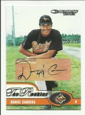 Daniel Cabrera 2003 Donruss Rookies Autograph #23  #270/383 Orioles RC Auto