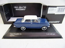 MINICHAMPS OPEL Kadett A 1962-65 Limited edition   Nr430043005 1/43