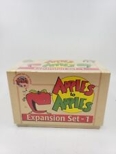 Apples to Apples Expansion Set 1 - 288 New Cards! - 2001 - Factory Sealed (P)
