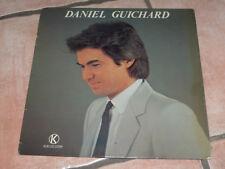"""VINYLE 33 TOURS DANIEL GUICHARD """"DOUCEMENT, LE GITAN..."""" KUKLOS KS 3010, TB ÉTAT"""