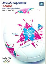 OFFICIAL FOOTBALL PROGRAMME OLYMPIC GAMES LONDON 2012