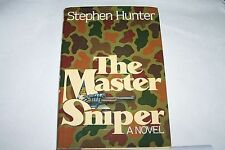 """The Master Sniper"" by Stephen Hunter, 1st edition, 1st printing"