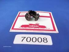 EE 70008 NEW Märklin HO AC 12mm Wheel Sets 700080 Pk/2 Wheelsets D12/L26.0