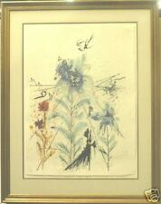 THE FLOWER MAGICIAN BY SALVADOR DALI HAND SIGNED JAPON