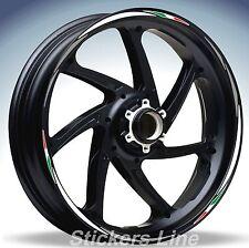 Adesivi ruote moto strisce cerchi HONDA NC 700 S Racing 4 sitckers wheel NC700S
