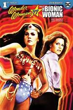 WONDER WOMAN '77 MEETS THE BIONIC WOMAN VOLUME 1 #1 1ST PRINTING COVER A STAGGS