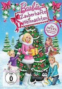 Barbie - Zauberhafte Weihnachten von Owen Hurley   DVD   Zustand gut