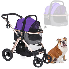 HPZ PET ROVER PRIME Luxury 3-in-1 Stroller for Small/Medium Dogs, Cats and Pets
