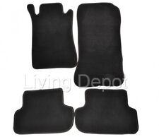 Fit For 03-09 Benz W209 CLK Class Floor Mats Carpet Front & Rear Nylon Black 4PC