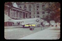 Navy McDonnell F3H Demon Aircraft in 1959, Original Slide aa 3-25a