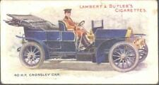 Lambert & Butler - Motors, green back - 13 - 40 hp Crossley Car
