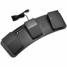 PC USB Triple Foot Switch Keyboard Mouse Control Action 3 Three Pedal HID FS3_P