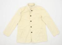 Orvis Womens Size M Cotton Cream Jacket