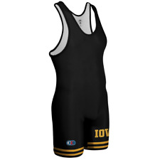 Cliff Keen | S79UIW | Authentic Licensed Iowa Hawkeyes Wrestling Singlet