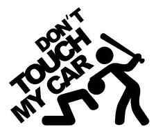 DONT TOUCH MY CAR Sticker Auto Aufkleber vinyl styling don't touch my car funny