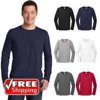 Gildan Softstyle Long Sleeve T-Shirt Ring Spun Cotton Soft Cotton Light T 64400