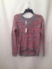 NWT Womens Aeropostale Pull Over Sweater Size XS/TP Multi Color