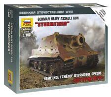 "Zvezda 1/100 ""STURMTIGER"" GERMAN HEAVY GUN D'ASSALTO # 6205"