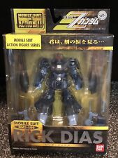 Bandai Zeta Gundam MSIA Black Rick Dias AEUG Action Figure with weapon Lot